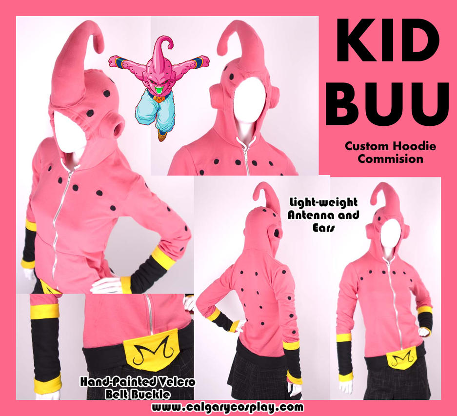 Kid Buu Cosplay Hoodie by KayPikeFashion ...  sc 1 st  DeviantArt & Kid Buu Cosplay Hoodie by KayPikeFashion on DeviantArt