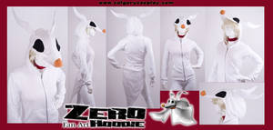 Ghost Dog Zero Hoodie Costume by KayPikeFashion
