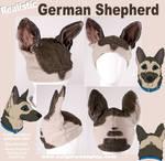 Realistic German Shepherd Hat