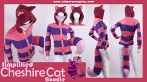 Simple Cheshire Cat Hoodie