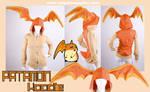 Digimon Cosplay Patamon Hoodie by KayPikeFashion