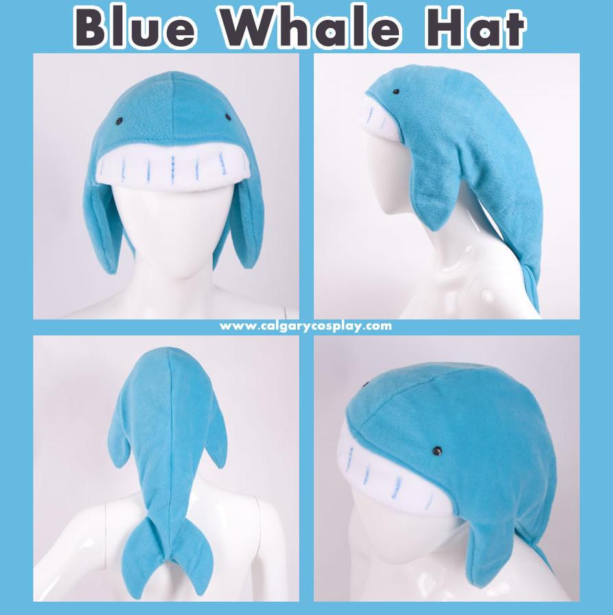 Blue Whale Hat , Design Winner by calgarycosplay