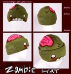 Cute Handmade Zombie Hat