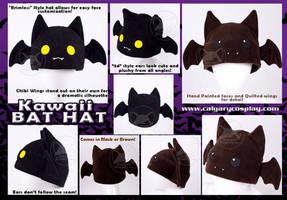 Kawaii Bat Hat, WINNER by KayPikeFashion