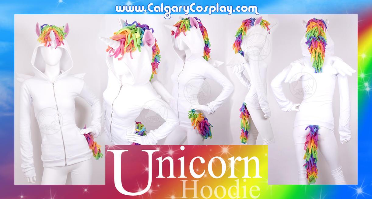 Pegacorn - Unicorn Hoodie by calgarycosplay