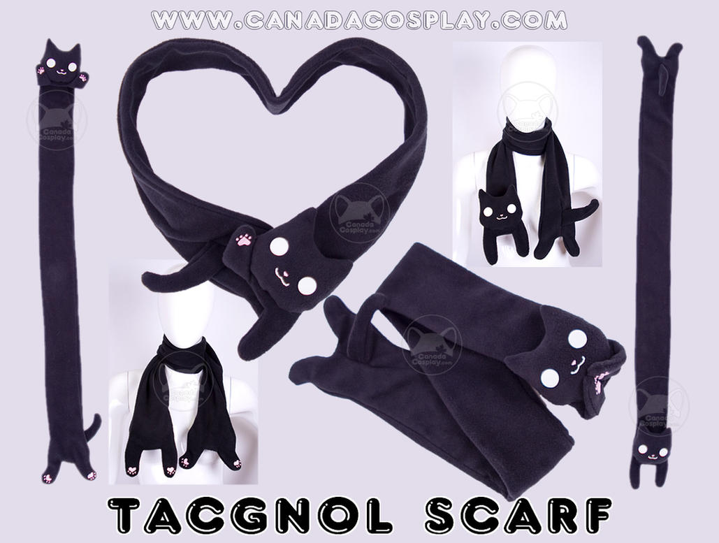 Tacgnol Scarf Fleece Plush by calgarycosplay