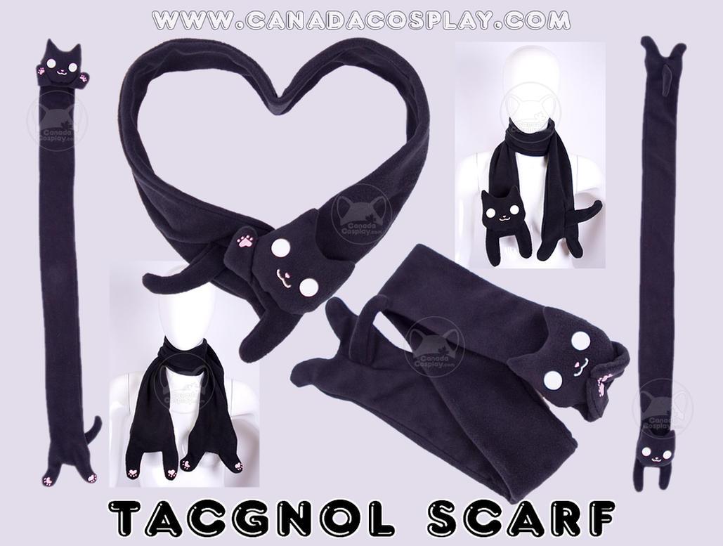 Tacgnol Scarf Fleece Plush by calgarycosplay