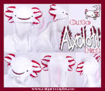 Cute Albino Axolotl Hat by KayPikeFashion
