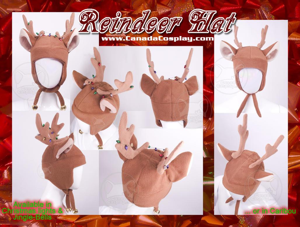 Christmas Reindeer Hat  WINNER by calgarycosplay