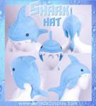 Blue Shark Hat