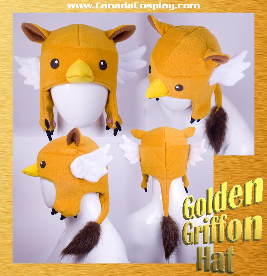Golden Griffon Hat by calgarycosplay