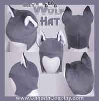Grey Wolf Aviator Hat 2012 by KayPikeFashion