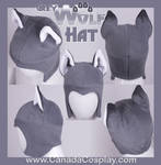 Grey Wolf Aviator Hat 2012 by KayPikeFashion