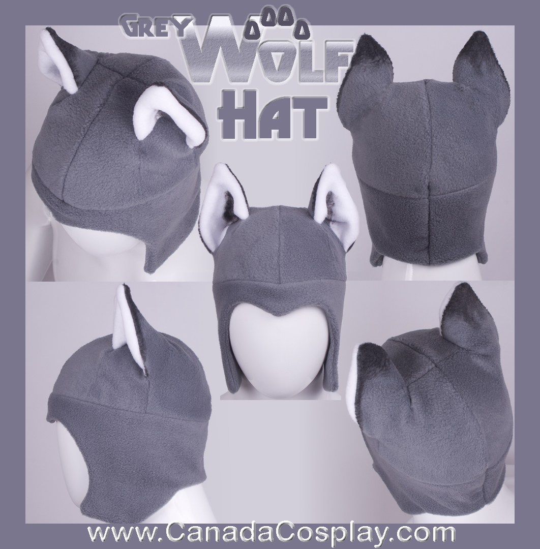 Grey Wolf Aviator Hat 2012 by calgarycosplay