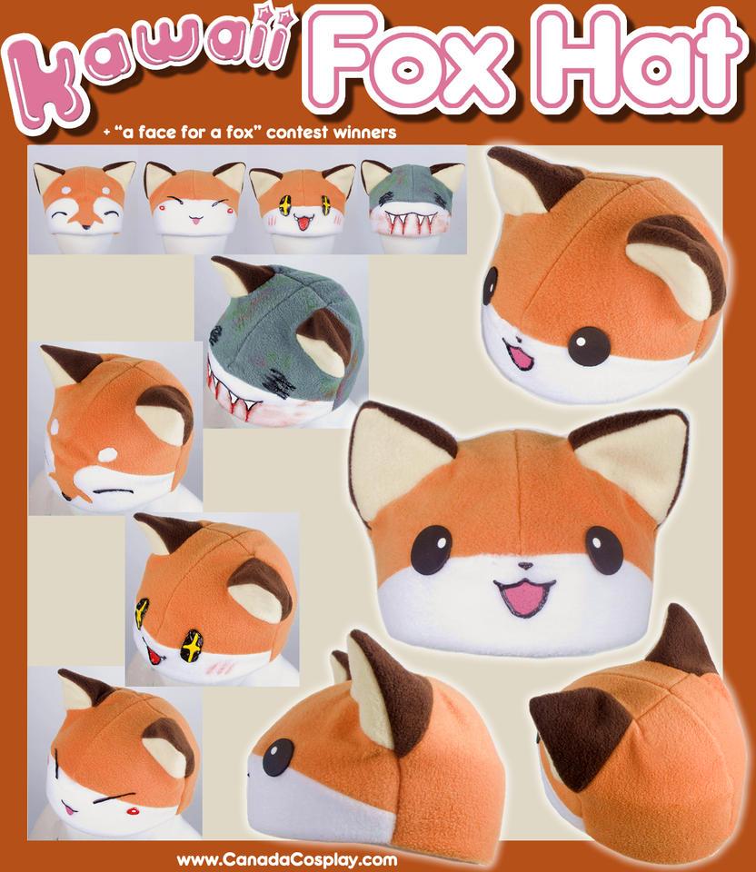 Uncategorized Kawaii Fox kawaii fox hat winners by kaypikefashion on deviantart kaypikefashion