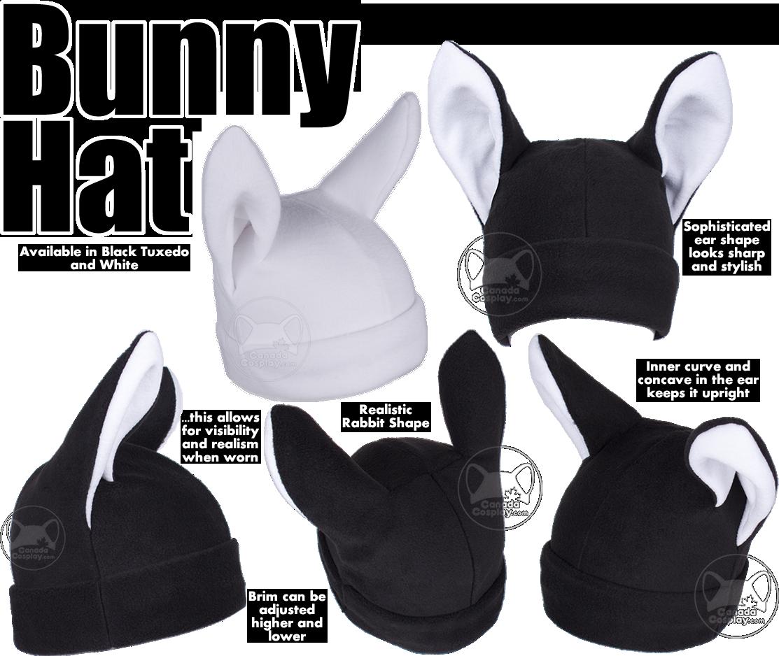 Bunny Rabbit Hat by calgarycosplay
