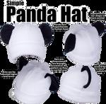 Simple Panda Hat