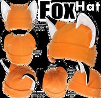 Fox Hat by KayPikeFashion