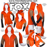 Fox Hoodie Limited Edition by KayPikeFashion
