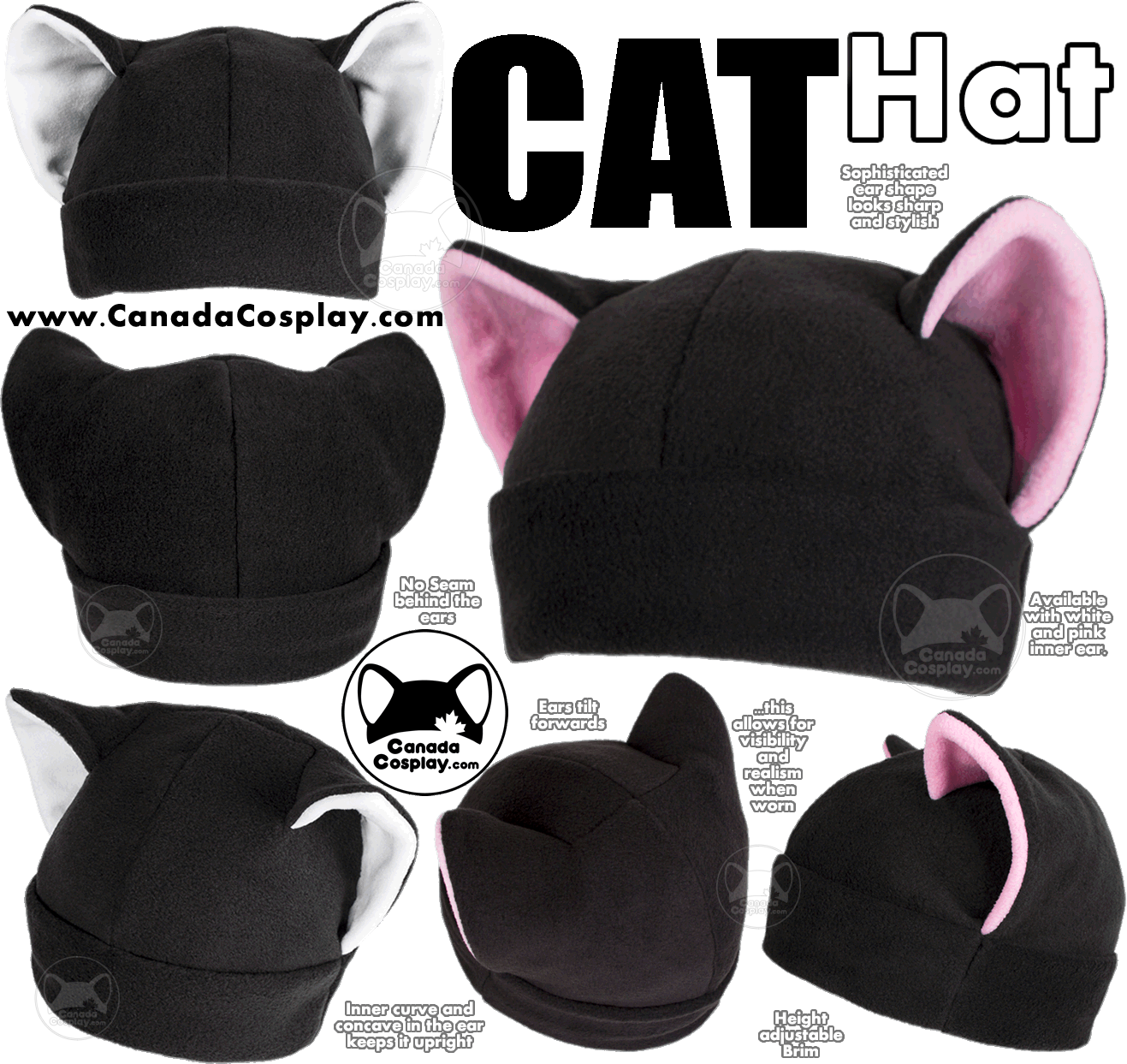 Cat Hat by KayPikeFashion
