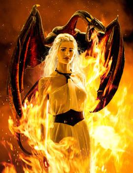 The Unburnt , Daenerys Targaryen Cosplay