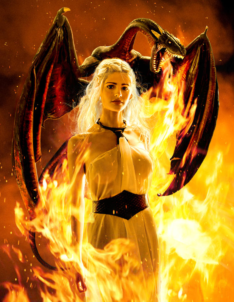 The Unburnt , Daenerys Targaryen Cosplay by calgarycosplay