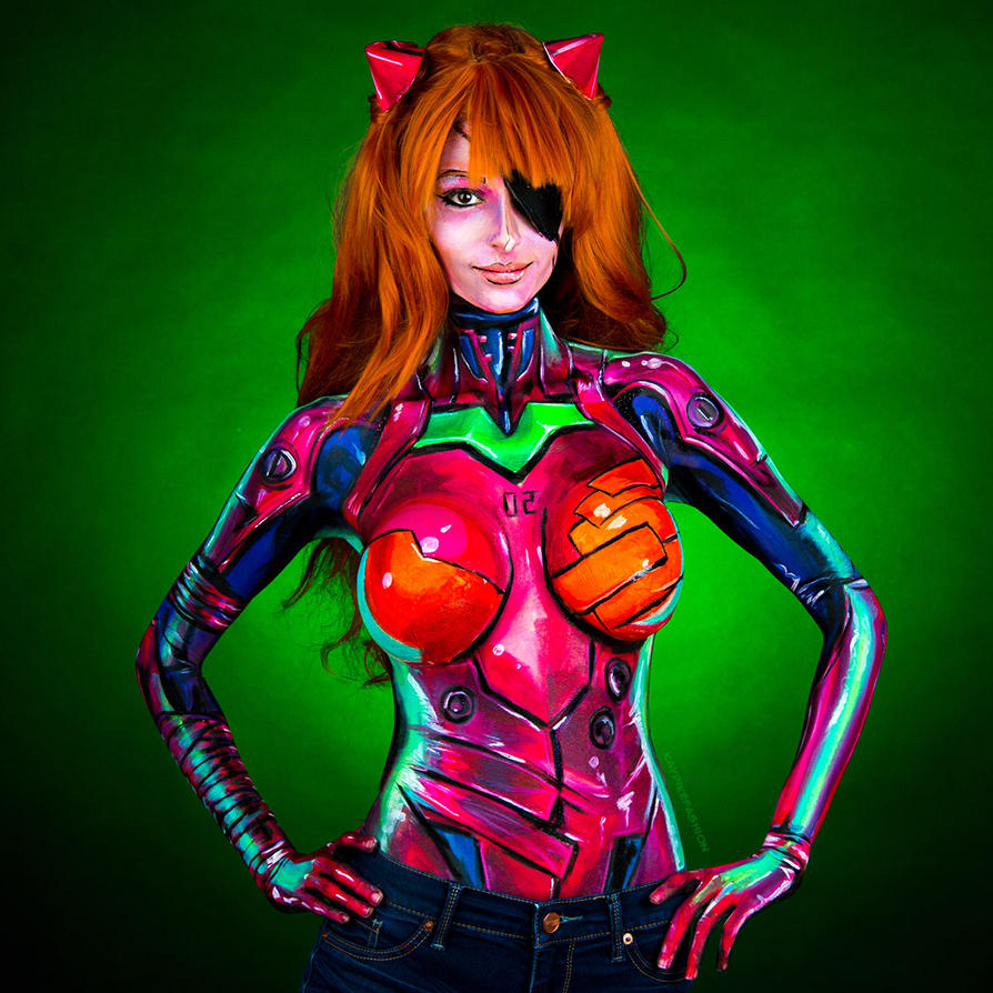 Asuka Face Paint Gkif