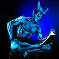 Beast Bodypaint by KayPikeFashion