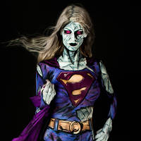 Bizarro Girl Bodypaint by KayPikeFashion