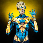 Booster Gold Bodypaint