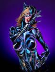 Catwoman Bodypaint