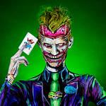 Joker Bodypaint