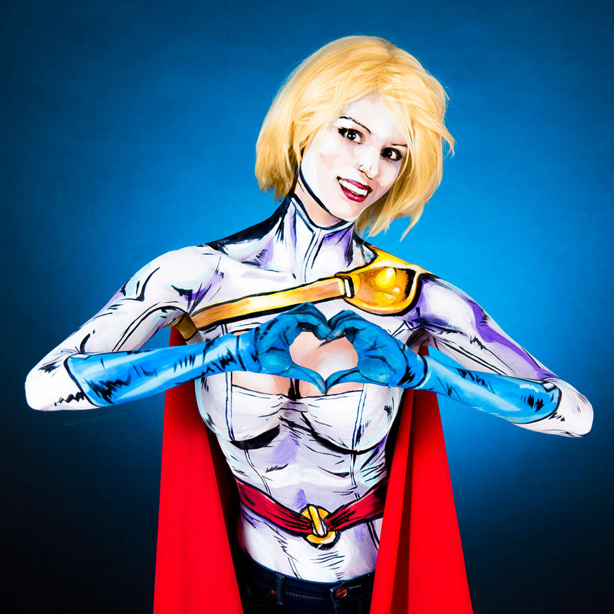Superhero Body Paint
