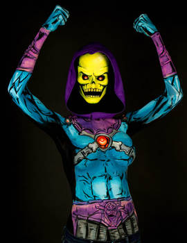 Skeletor Bodypaint