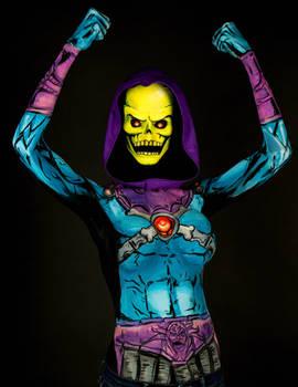 Skeletor Bodypaint
