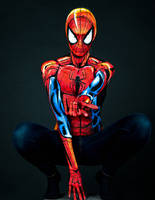 Spiderman Bodypaint by KayPikeFashion