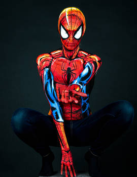 Spiderman Bodypaint