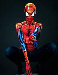Spiderman Bodypaint