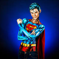 Superman Bodypaint