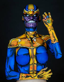 Thanos Bodypaint
