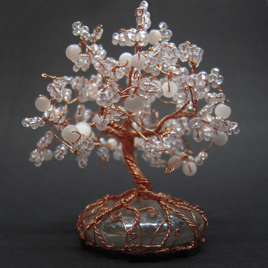 Crystal tree by miriele on deviantart for How to make a wire tree of life sculpture
