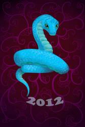 Little snake by Miriele