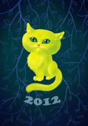 little cat by Miriele