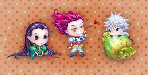 chibi HunterxHunter