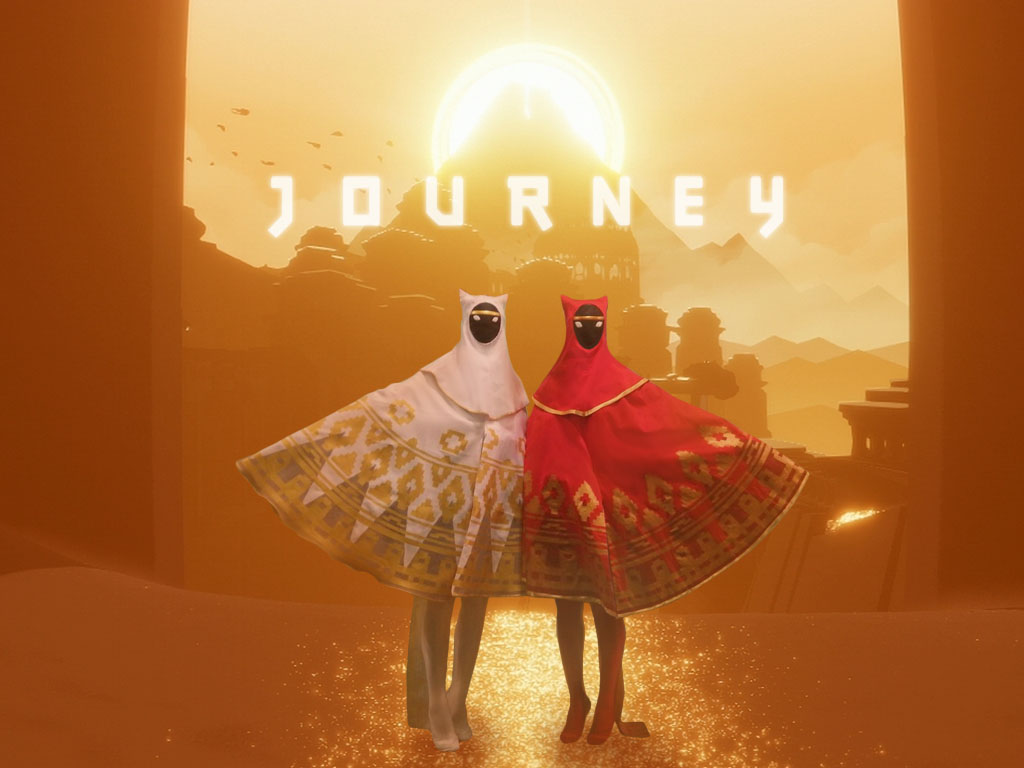Journey Game Cosplay by Miriele