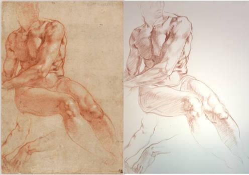 Mastercopy-MIchelangelo Drawing