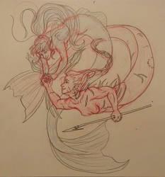 Vilidia and Kaiisu-MerMay Drawing