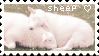 F2U - Sheep stamp by Charmlly