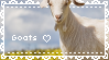 F2U - Goat stamp by Charmlly
