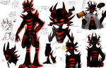 Creepy Character Study Colored: ZALGO